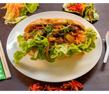 Salad bread roll